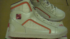 brand new Womens Peach Creme Pastry Brulee Hi trainers size UK 6.5