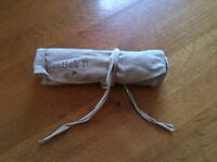 Vintage Swedish Army  Surgical instrument pouch, beige