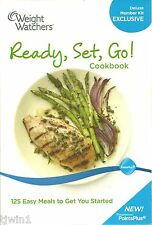WEIGHT WATCHERS READY, SET, GO! COOKBOOK 125 EASY MEALS TO GET YOU STARTED! 2010