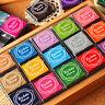 20 Farben DIY-Kunsthandwerk Süße Stempelkissen Für Gummi Stempel Papier Drucken