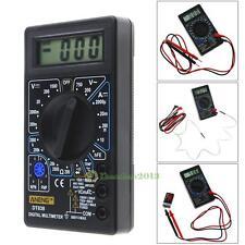 LCD Digital Multimeter DT-838 AC/DC 750/1000V Amp Volt Ohm Tem Tester Ohmmeter