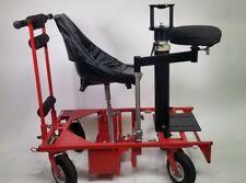 Matthews Red Dolly. ED Dolly. w/ Bazooka & Offset Arm, Riser, Seat *VERSATILE*