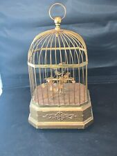 Antique German Karl Griesbaum Singing Bird Cage Music Box Automaton