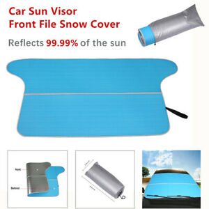 Car SUV Sun Visor Front File Snow Cover Block Sunscreen Insulation Visor Camping