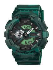 Casio G-Shock Uhr Camouflage GA-110CM-3AER Analog,Digital Grün
