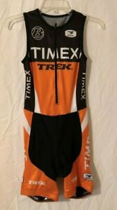 Womens Sugoi TIMEX/TREK Cycling Suit Sz Small