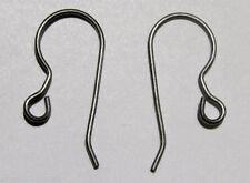 50 ea TITANIUM French Hook Ear Wires Earrings Grade 1 ~No Nickel Hypo-Allergenic