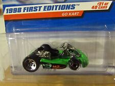 Hot Wheels Go Kart 1998 First Editions Green