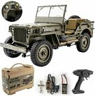 with Transmitter Battery and Charger 1/12  Willys Jeep