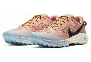 New Nike Air Zoom Terra Kiger 6 Trail Running Women Shoes Sz 9.5 Pink CJ0220-600