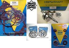 Suzuki RM 85 02-15 Mitaka Engine Bottom Rebuild Kit Crank Mains Gasket Seal