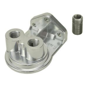 "Derale Engine Oil Filter Remote Mounting Kit 25708; Single Remote Mount 3/4""-16"