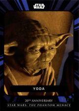 Star Wars Phantom Menace On Demand, 5B Yoda Card, blue 07/10