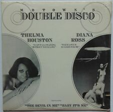"THELMA HOUSTON & DIANA ROSS: DOUBLE DISCO motown 12"" PROMO rare"