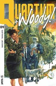 Quantum & Woody (Cvr A Fowler) Valiant Entertainment Llc Comic Book
