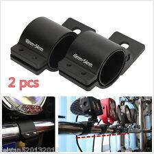 2x 49-54mm Bull Bar Mounting Bracket Clamps Kit Vehicles LED/HID Driving Light