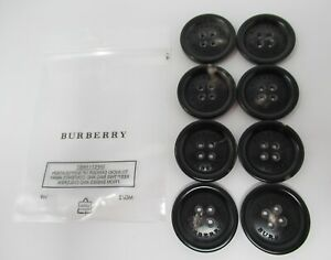 BURBERRY TRENCH COAT AUTHENTIC REPLACEMENT BUTTONS 24MM SET OF 8 BRAND NEW !!!!
