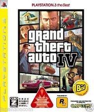 Used PS3 Grand Theft Auto IV SONY PLAYSTATION 3 JAPAN JAPANESE IMPORT