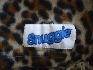 Cheetah Snuggie