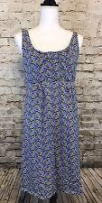 Boden Size 6L Blue Seashells Claire Empire Waist Dress