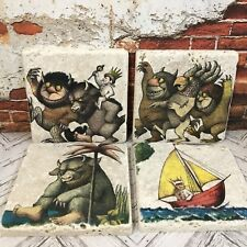 Where The Wild Things Are Stone Coasters