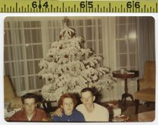 Vintage 1950's KODACHROME photo / CHRISTMAS is a Scary Time for Paranoid Peggy