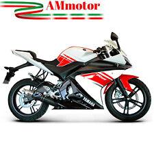 Termignoni Scarico Completo Yamaha Yzf R125 2011 Terminale Round Carbonio Moto