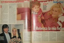 Heather Parisi - Due pagine - anno 1996 - ki13