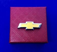 Chevy Lapel Pin Auto Car Chevrolet Emblem Pin Back Hat Pin (New)