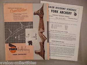 York Archery CATALOG - 1964