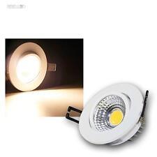 LED empotrado Blanco Cálido 5w COB, Empotrables 230v Foco de Lámpara