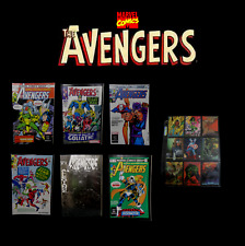 Marvel The Avengers Issue No: 135, 28, 223, 06, 369, 196 Comics Set with Cards