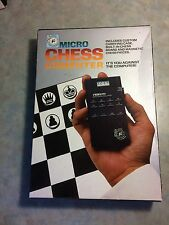 RARE FIND VINTAGE FIDELITY MICRO CHESS COMPUTER MODEL 6096 NEW IN BOX