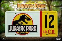 Jurassic Park Replik 1/1 Dennis Nedry Nummernschild