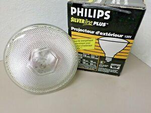 Philips Silverline 120W 130V PAR38 Halogen Flood Lamp 120PAR/FL427