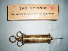 S MAW, SON AND SONS. EAR SYRINGE. MEDICAL USE.Origanal Box