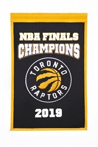 TORONTO RAPTORS 2019 NBA CHAMPIONS BANNER IN SHIPS FROM CANADA