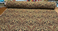 Ramiro Damask Truffle Swavelle Soft Chenille Upholstery Fabric By The Yard