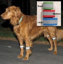 Bright STEPS Dog Reflective Leg Bands ~ Keep Your Dog Safe & Seen