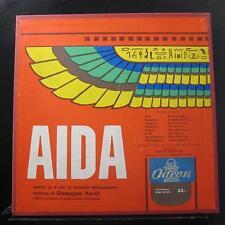 Tullio Serafin / Giuseppe Verdi - Aida 4 LP VG+ QALP 10010.13 Italy Vinyl Record