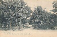 BRADFORD PA – Summit Walk The Top of the Rocks Rotograph Postcard – udb