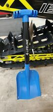 1 Blue Aluminum Collapsible Snowmobile Shovel Polaris Yamaha SkiDoo Arctic Cat
