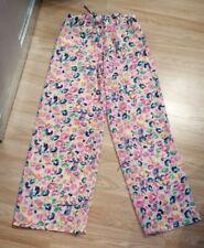 Ladies Neon Animal Print Beach Trousers UK Size S