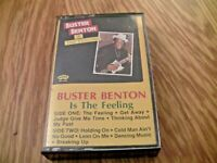 Buster Benton is the Feeling Cassette Tape