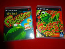 EMPTY CASES - Frogger 1 + 2: Swampy's Revenge Sony PlayStation 1 PS1 PSX PS2 PS3
