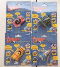 4 THUNDERBIRDS Turbo PULL 'N' GO VEHICLE 1999 LADY PENELOPES CAR TB 1 2 4