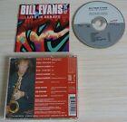 RARE CD ALBUM LIVE IN EUROPE BILL EVANS & PUSH 8 TITRES 1995