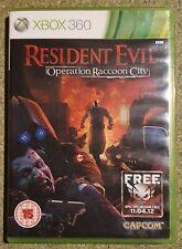 Resident EVIL: operación Raccoon City (Microsoft Xbox 360, 2012) - versión europea..