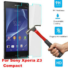 For Sony Xperia Z3 Compact 9H Premium Tempered Glass Screen Film Protector Cover