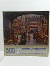 Bits And Pieces - Christmas Shopping 500 Piece Puzzle - Finlay